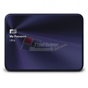 Western Digital WDBEZW0030BBA My Passport Ultra Metal Edition (Blue-Black) 3TB