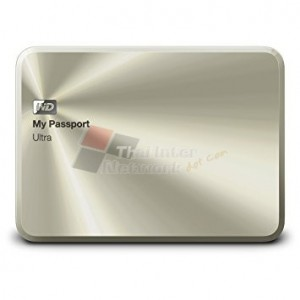 Western Digital WDBEZW0030BCG My Passport Ultra Metal Edition (China Gold) 3TB