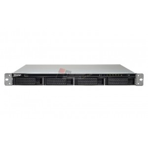 QNAP TS-463U-RP High performance quad-core 10GbE NAS with redundant power supplies
