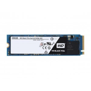 WESTERN DIGITAL WDS256G1X0C Black 256GB Performance SSD - M.2 2280 PCIe NVMe Solid State Drive