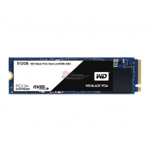 WESTERN DIGITAL WDS512G1X0C Black 256GB Performance SSD - M.2 2280 PCIe NVMe Solid State Drive