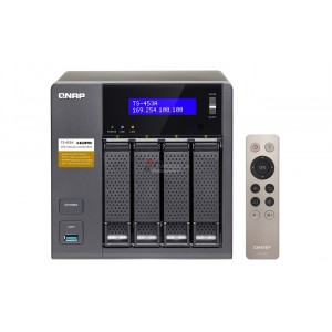 QNAP TS-453A QTS-Linux Combo NAS: a well-rounded private cloud solution centralizing storage