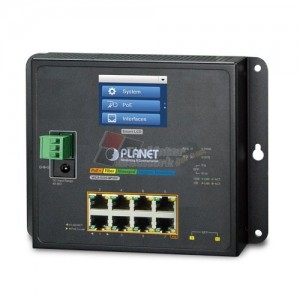 Planet WGS-5225-8P2SV L2+ 8-Port 10/100/1000T 802 3at PoE + 2-Port