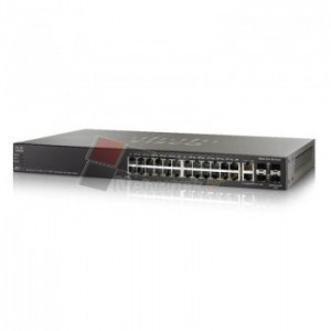 Cisco SG550X-24-K9-EU 24 x 10/100/1000 ports, 4 x 10 Gigabit Ethernet