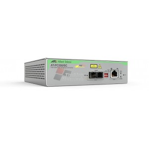 Allied Telesis AT-PC200/SC-60 100Mbit/s 1310nm Multi-mode Grey network media converter