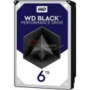 "WESTERN DIGITAL WD5001FZWX 6TB Black 7200 rpm SATA III 3.5"" Internal Hard Drive"