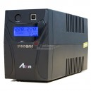 SYNDOME ATOM 600-LCD UPS 600VA/360W, Stabilizer, LCD Display