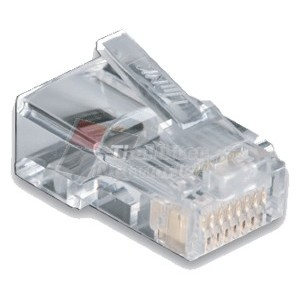 Link US-1001 CAT 5E RJ45 Modular PLUG 8Pin Male, High Performance