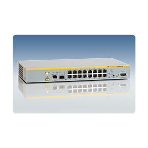 AT-8000S/16 10/100TX x 16 ports managed Fast Ethernet switch with SFP with 1 combo port