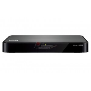 QNAP HS-251-US Silent & fanless NAS with HDMI-out for the best audiovisual experience