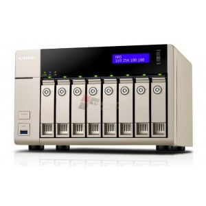 QNAP TVS-863 Affordable 10GbE-ready Golden Cloud Turbo vNAS