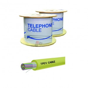 LINK UL-1405 TPEV Telephone 0.65mm, 5 Pair