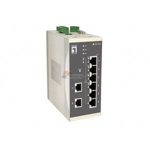 Level One IES-0842 4 x 802.3at + 4 FE Web Smart Switch -10 to 60C, DIN-rail