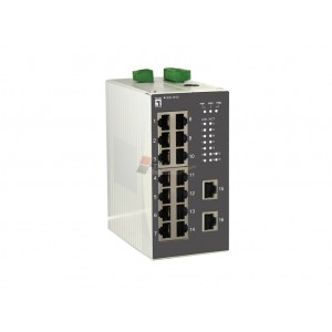 Levelone IES-1610 16-Port Industrial Fast Ethernet Switch, DIN-Rail