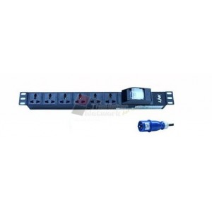 LINK CH-10412 PDU12 Universal Outlet(CB 16A+PP 16A)