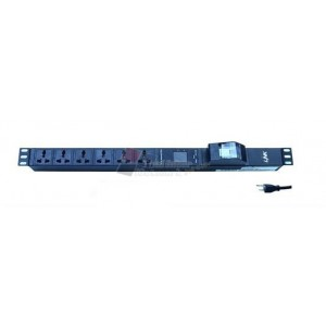 LINK CH-10712 PDU12 Universal Outlet(CB 16A+V-A)