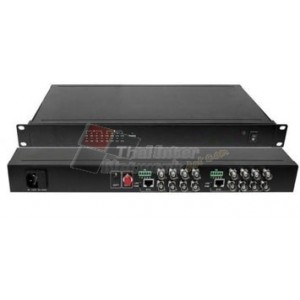 "LINK VCC-1610SR 19"" Rack Video Receiver 16CH w/Data, SM"