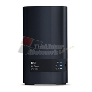 WESTERN DIGITAL WDBVBZ0080JCH-SESN WD My Cloud EX2 Ultra Private Cloud Storage - NAS Storage