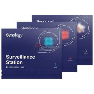 Synology License Pack 4 Surveillance Device License Pack