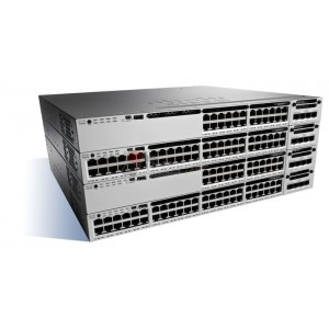 Cisco WS-C3850-24U-E Stackable 24 10/100/1000 Ethernet UPOE ports, with 1100WAC power supply 1 RU