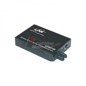 LINK UT-0214E 10/100 Mbps ENHANCE Media CONVERTER, RJ45, ST (MM.)